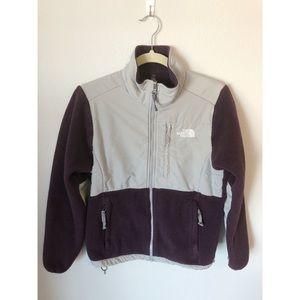 North Face Purple Denali Fleece Jacket
